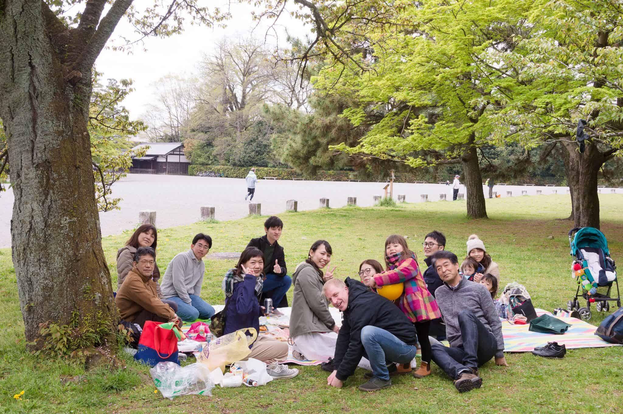スミス英会話桂校ピクニック