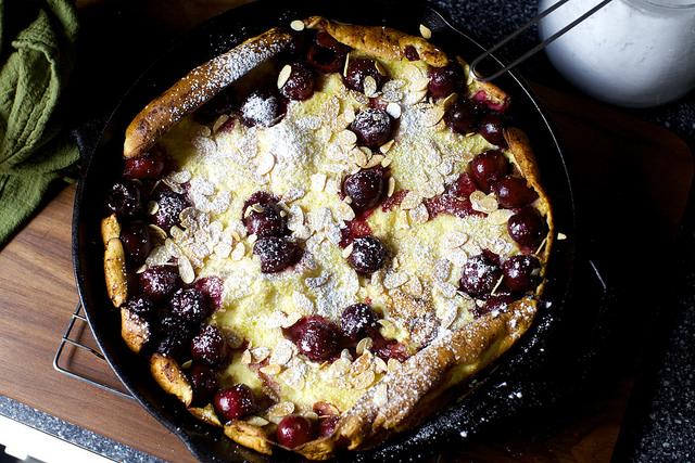 Cherry Almond Dutch Baby Smitten Kitchen