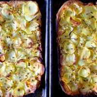 potato pizza, even better