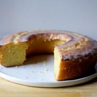 ciambellone, an italian tea cake