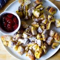 austrian torn, fluffy pancake