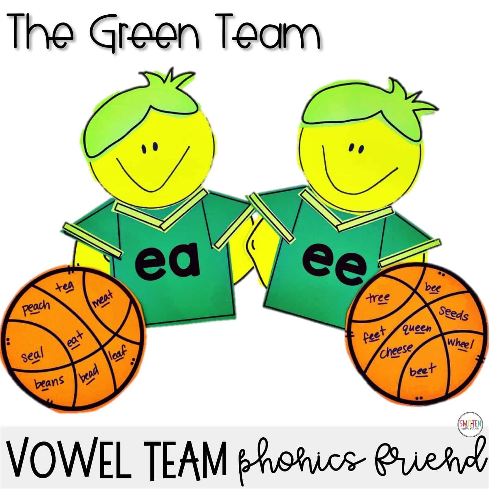 Long E Vowel Teams Vowel Pairs Ee Ea Phonics Activities