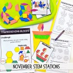 November Thanksgiving Stem Activities Smitten With First