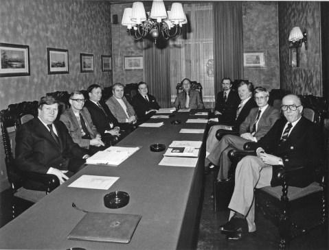 Hallituksen kokous 1980-luku (SMK).