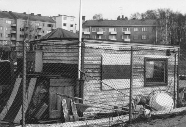 Pajalahti - vartijakoppi purettiin 1983 (SMK)