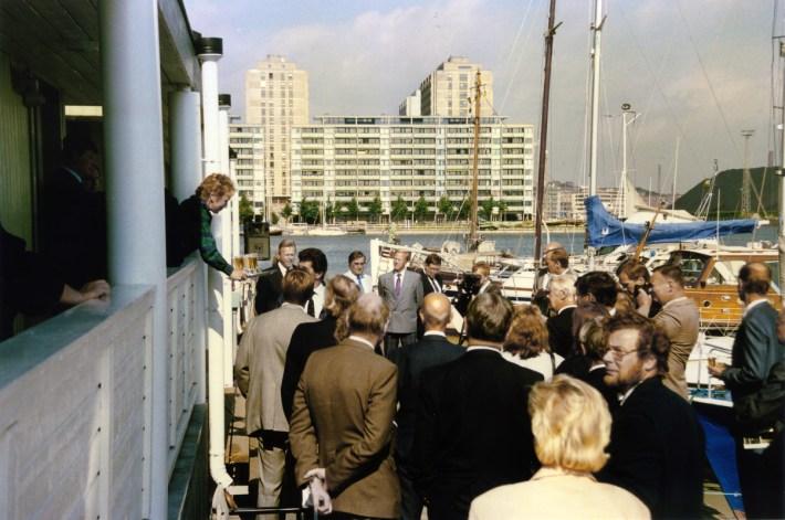 Pohjoisrannan klubitalon vihkiäiset 1987 (SMK)