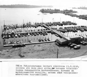 Pohjoisrannan satama 1960 luvulla (SMK)