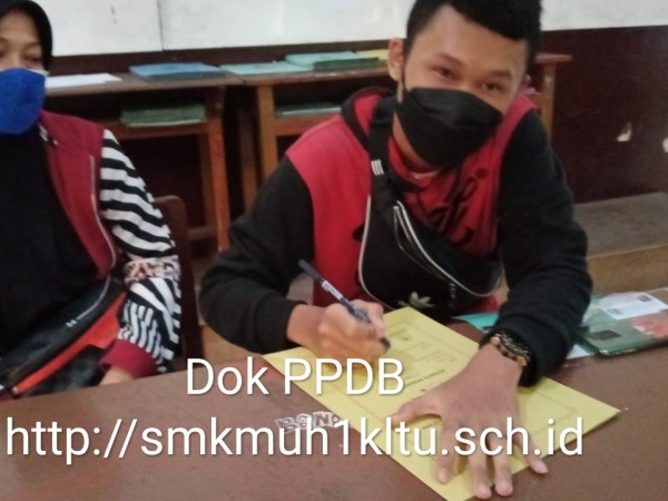 PPDB SMK Muh 1 Klaten tetap semangat