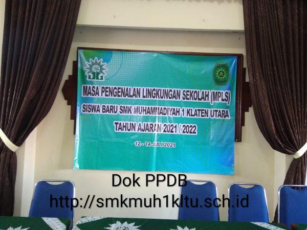 Mas Pengenalan Lingkungan Sekolah (MPLS) SMK Muhammadiyah 1 Klaten Utara