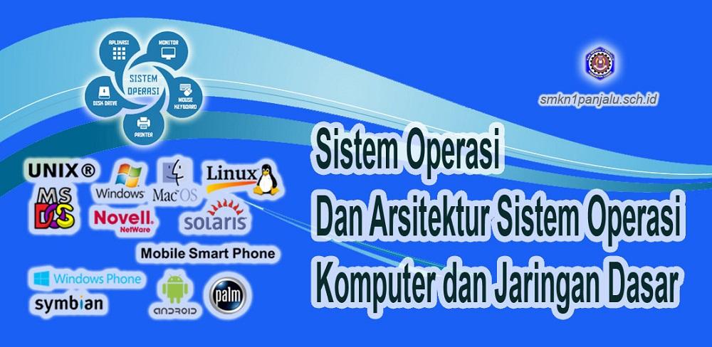 Sistem Operasi dan Arsitektur Sistem Operasi