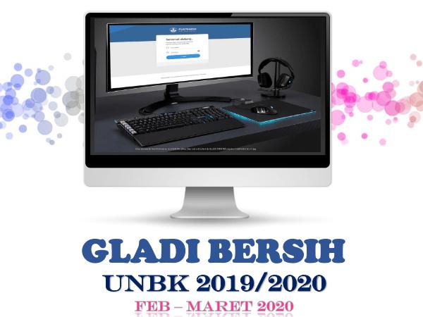 Informasi Gladi Bersih UNBK SMK 2020