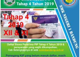 PIP SMKN 1 Bandung Tahap 4 Tahun 2019