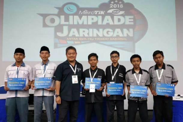 Olimpiade Jaringan Mikrotik 2018