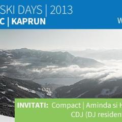 Sarbatoriti Romanian Ski Days in Kaprun prin Agentia de Turism Lup