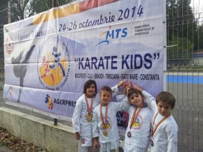 Secția de karate a CSM Satu Mare, crește viitori campioni