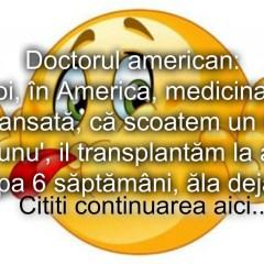Bancul zilei :) Medicina avansata…