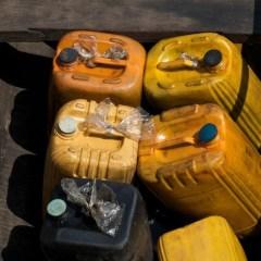 Un tânăr de 26 de ani prins transportând ilegal combustibil