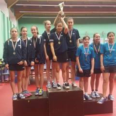 Careianca Dari Helga a obtinut locul 1 in Budapesta la tenis de masa