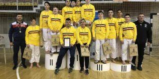 Judoka de la CSM – Fușle Security, campioni naționali cu echipa euroregiunii 6 N-V