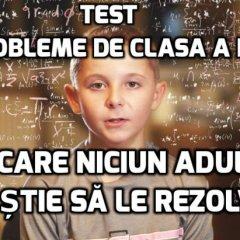 TEST – 5 probleme de clasa a II-a pe care niciun adult nu e capabil să le rezolve