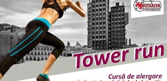 Tower Run – cursa palatului debuteaza sambata la Satu Mare