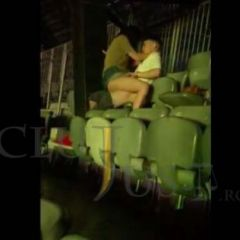 VIDEO Tineri filmaţi în timpul unei partide de sex la Festivalul Untold