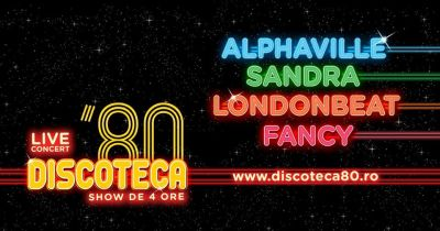 Alphaville, Sandra, Londonbeat, Fancy vor canta la Cluj  in 23 septembrie