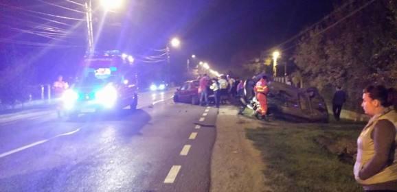 Ce spun politistii despre accidentul de pe strada Lucian Blaga