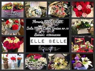 Elle Belle Flowers – un nou concept in design, acum la Satu Mare