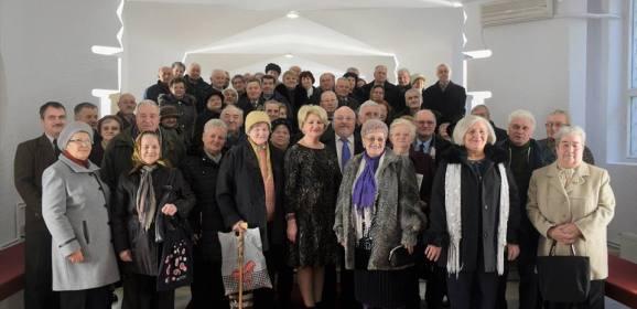 Cele mai longevive cupluri din Satu Mare, omagiate de municipalitate
