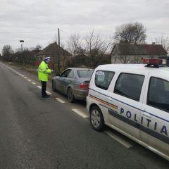 Acțiune a polițiștilor rutieri sătmăreni pentru combaterea excesului de viteză