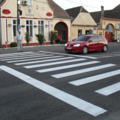 Vezi câți șoferi au rămas ieri fără permis pentru că nu au acordat prioritate pe trecerile pentru pietoni din Satu Mare