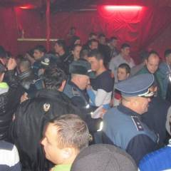 Controale a polițiștilor în municipiul Satu Mare, în zona discotecilor și a barurilor