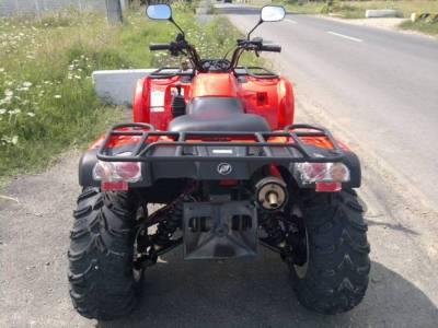 ATV neinmatriculat, condus de o persoana care nu poseda permis de conducere