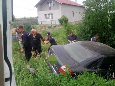 Accident rutier, soldat cu ranirea usoara a conducatorului auto la Ciuperceni