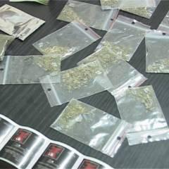 Substanțe suspecte descoperite de polițiști asupra unui conducător auto