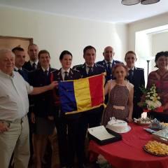 Reprezentantii structurilor MAI in vizita la satmareni nascuti odata cu Romania