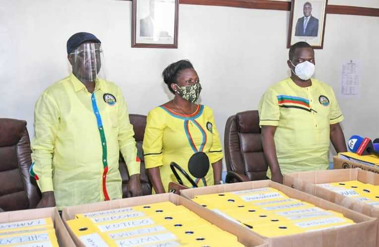 NRM Submits Over 5M Signatures To EC To Support President Museveni's Nomination