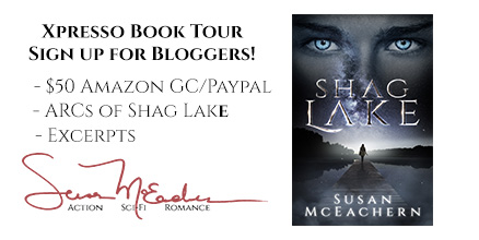 Shag Lake Book Tour Signup!