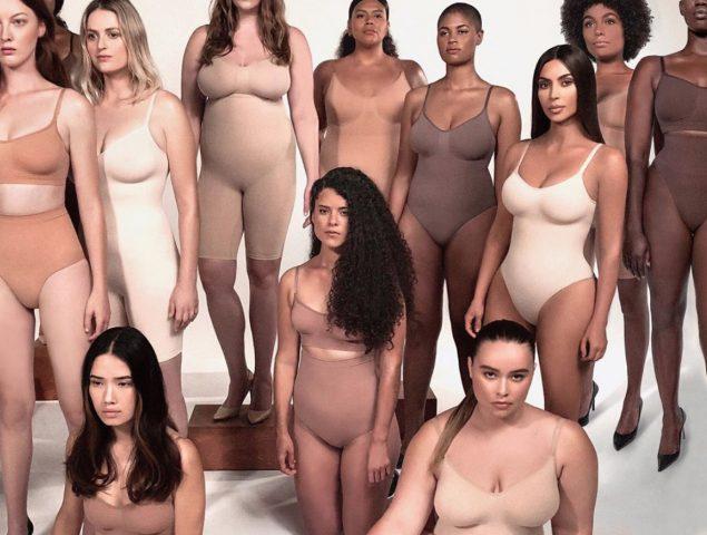 Resultado de imagen para kim kardashian fajas