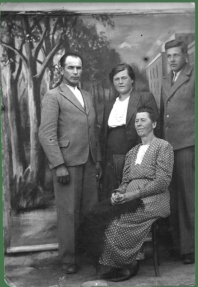 Rudolf Orłowski Zofia Kosturek Ilich Tadeusz