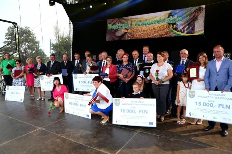 Laureaci konkursu Piękna Wieś Opolska 2018