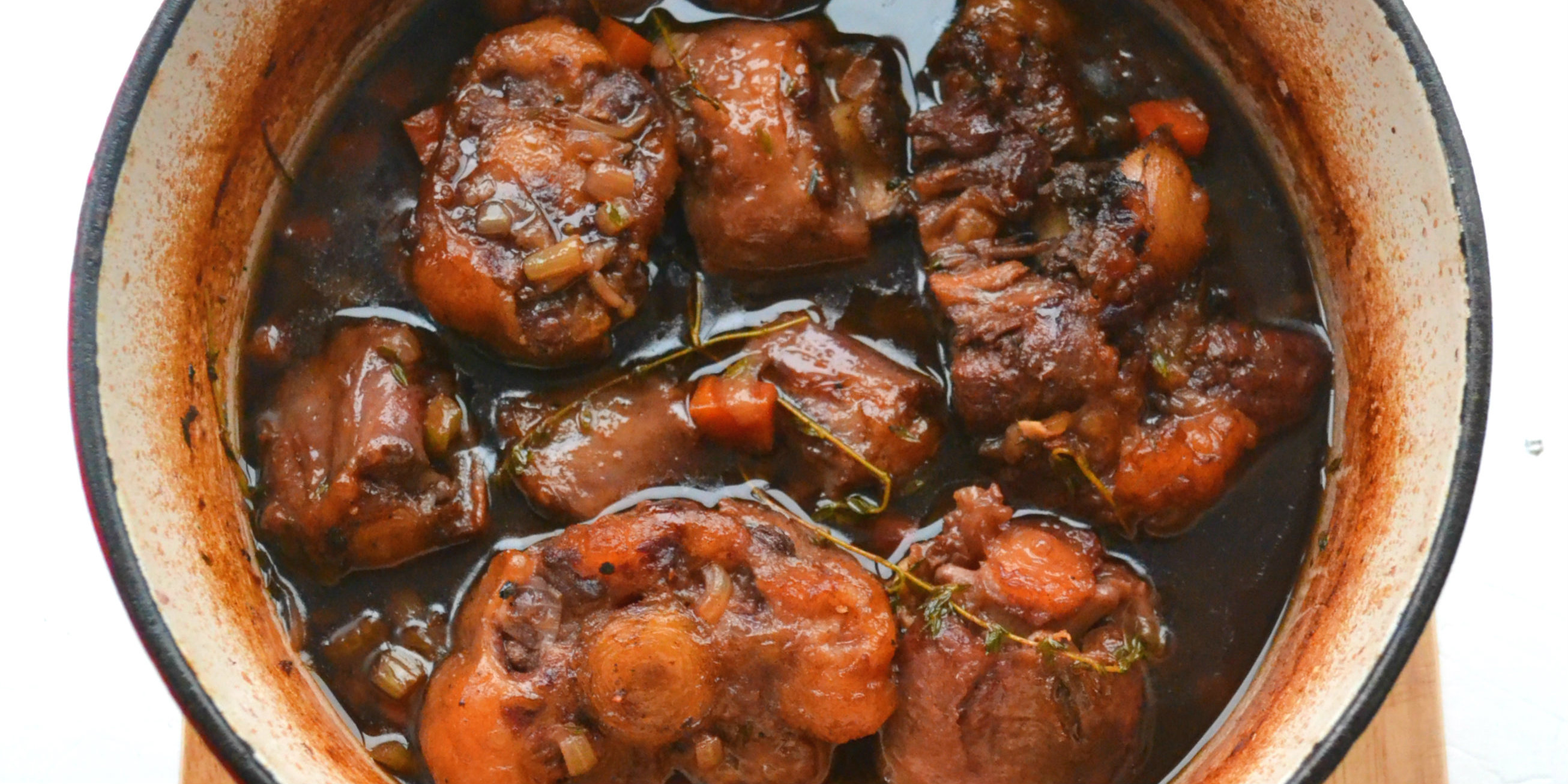 Braised Oxtail and Ale Stew