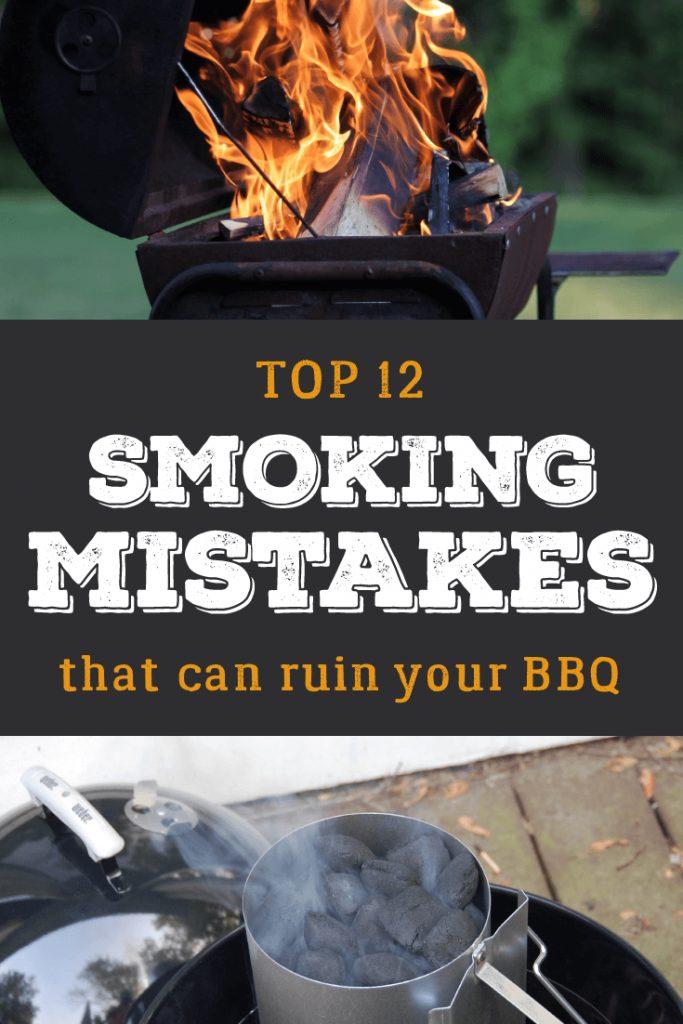 Top smoking mistakes