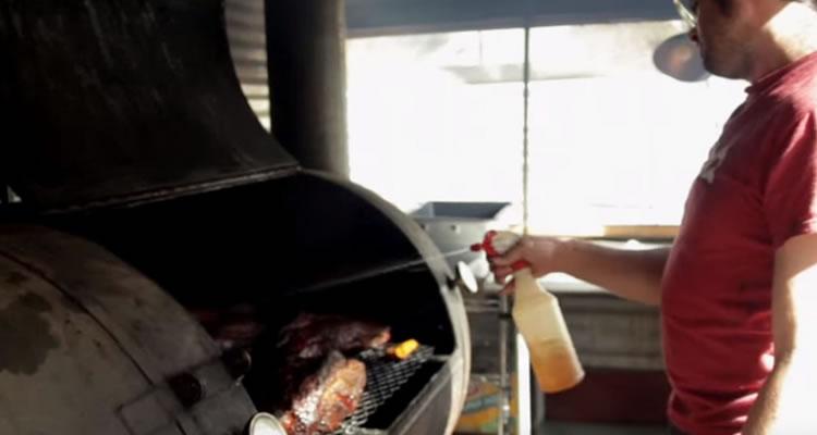 Spritzing your brisket