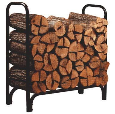 Panacea outdoor log rack small