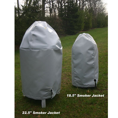 Cold weather jacket for weber smokey mountain