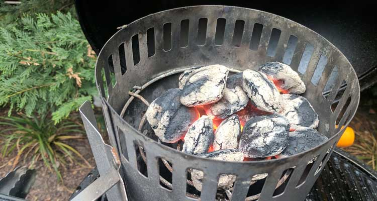 Reuse old charcoal