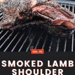 Smoked lamb shoulder