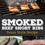 Texas style smoked beef short ribs